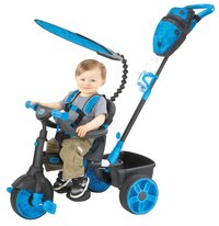 Little Tikes tricycle 4 en 1 noir/bleu-Image 1
