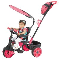 Little Tikes tricycle 4 en 1 noir/rose-Image 1