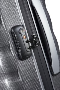 Samsonite Harde reistrolley Firelite Spinner grey 55 cm-Artikeldetail