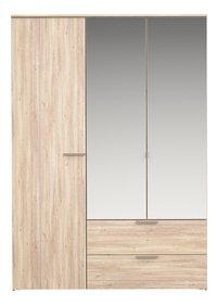 Young armoire 3 portes et 2 tiroirs-Avant