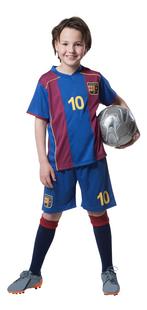 Tenue de football FC Barcelona rouge/bleu taille 128-Avant