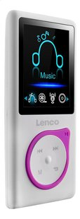 Lenco mp4-speler Xemio-668 8 GB roze-Linkerzijde