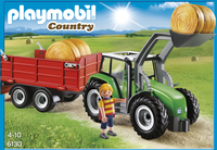 Playmobil Country 6130 Tracteur avec pelle et remorque-Avant