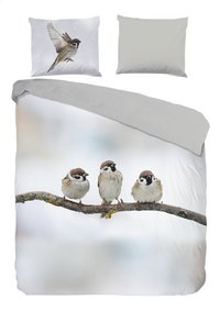 Good Morning Housse de couette Sparrow flanelle 200 x 220 cm-Avant