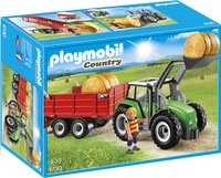 Playmobil Country 6130 Tracteur avec pelle et remorque