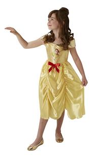 Verkleedpak Fairytale Belle maat 98/104-Vooraanzicht