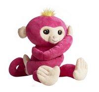 Fingerlings peluche interactive Hugs rose-Côté gauche