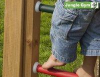 Jungle Gym speeltoren Palace met brug en blauwe glijbaan-Artikeldetail