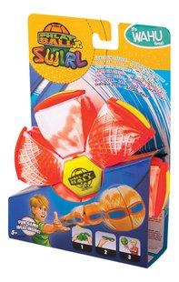 Goliath Frisbee Phlat Ball Swirl jr. Ø 14 cm rood-Rechterzijde