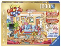 Ravensburger puzzle What if? n°3 Rénovation de la maison-Avant
