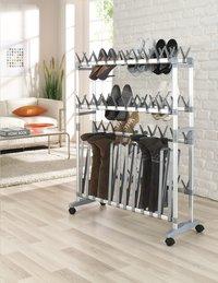 Ruco aluminium schoenen-/laarzenrek