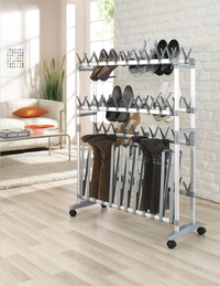 Ruco range-chaussures/bottes en aluminium