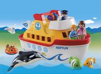 Playmobil 1.2.3 6957 Meeneemschip-Afbeelding 1