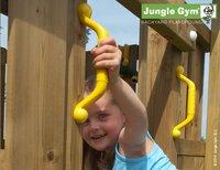Jungle Gym speeltoren Palace met brug en gele glijbaan-Afbeelding 4