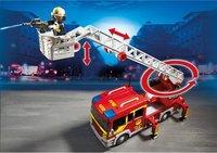 PLAYMOBIL City Action 5362 Brandweer ladderwagen met licht en sirene-Afbeelding 2