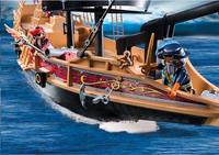 PLAYMOBIL Pirates 6678 Piraten aanvalsschip-Afbeelding 2