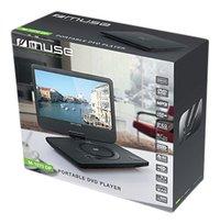 Muse draagbare dvd-speler M-1070 DP 10.1 inch zwart