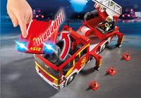 PLAYMOBIL City Action 5362 Brandweer ladderwagen met licht en sirene-Afbeelding 3