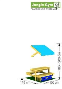Module pique-nique mini pour De Hut/Cubby-Détail de l'article
