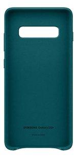 Samsung Leather Cover voor Galaxy S10+ green-Vooraanzicht