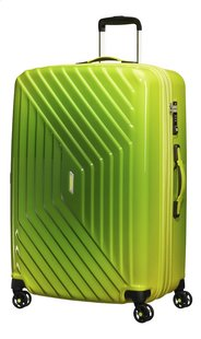American Tourister Harde reistrolley Air Force 1 Spinner EXP gradient yellow 76 cm