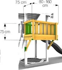 Module balcon pour Barn/De Hut/Cubby-Détail de l'article