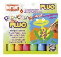 Instant verfstick Playcolor One Fluo - 6 stuks