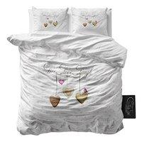 Sleeptime Essentials Dekbedovertrek Live, Love, Laugh 2 microvezel 240 x 220 cm-Vooraanzicht