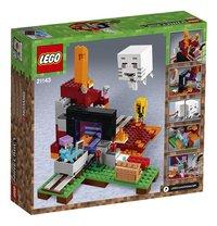 LEGO Minecraft 21143 Het Onderwereldportaal-Achteraanzicht