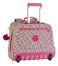 Kipling cartable à roulettes Clas Dallin Latin Mix Pink 42,5 cm