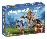 PLAYMOBIL Knights 9344 Dwergenkoning-Linkerzijde