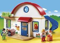 Playmobil 1.2.3. 6784 Maison de campagne-Image 1