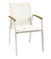 Chaise de jardin Breeze blanc