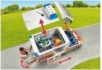 PLAYMOBIL City Life 6685 Ambulance avec gyrophare et sirène-Détail de l'article