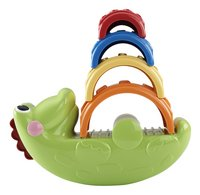 Fisher-Price Mon croco à empiler-commercieel beeld