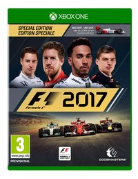 XBOX One F1 2017 Special Edition FR/ANG
