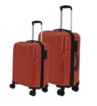 Transworld Set de valises rigides Citytrip Spinner bright red-Image 1