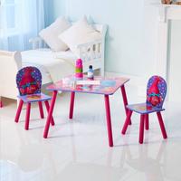 Table avec 2 chaises pour enfants Trolls-Image 1