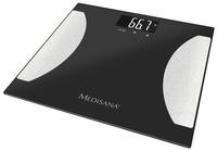 Medisana Pèse-personne/impédancemètre BS475 noir/argenté
