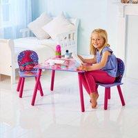 Table avec 2 chaises pour enfants Trolls-Image 2