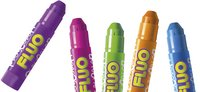 Instant verfstick Playcolor One Fluo - 6 stuks-Afbeelding 2