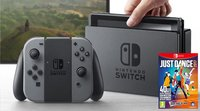 Nintendo Switch console grijs + Just dance 2017