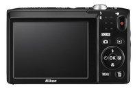 Nikon Digitaal fototoestel Coolpix A100 rood-Achteraanzicht
