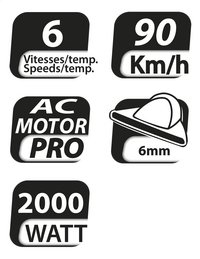 BaByliss Haardroger Pro Light 6604WE-Artikeldetail