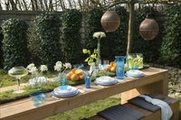 Rosti Mepal 6 platte borden 26 cm blauw-Afbeelding 2