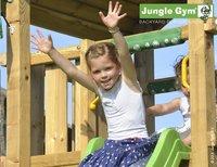 Jungle Gym tour en bois House avec pique-nique et toboggan vert-Image 2
