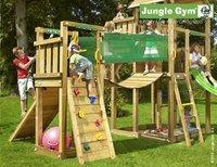 Jungle Gym tour Palace avec pont et toboggan bleu-Image 3