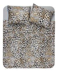 Ambianzz Dekbedovertrek Leopard Skin naturel katoen-Vooraanzicht