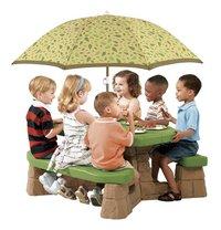 Step2 kinderpicknicktafel Naturally Playful met parasol-Afbeelding 1
