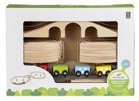 DreamLand Houten treinset-Vooraanzicht